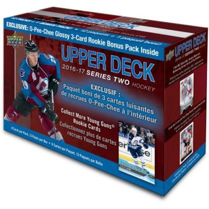 16-17 Upper Deck Series 2 Hockey Mega Box