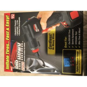 As Seen On Tv Air Hawk Pro Inflator D10