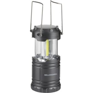 Bell + Howell LED TacLight Lantern, Ultra Bright Military Tough Tactical Lantern, Great for Camping Outdoors or Power Outages, Black, As Seen On TV