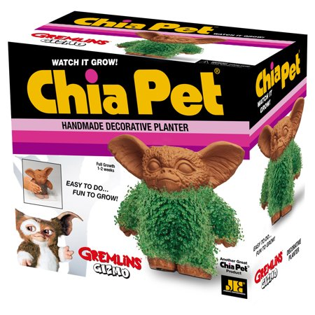 Chia Pet Gizmo from Gremlins Decorative Pottery Planter, Easy to Do and Fun to Grow, Novelty Gift As Seen on TV