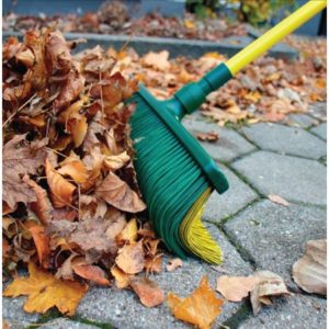 Claw Broom, Combination Broom and Rake, Easy Push & Pull Design, Use on Stairs and Uneven Surfaces, As Seen on TV