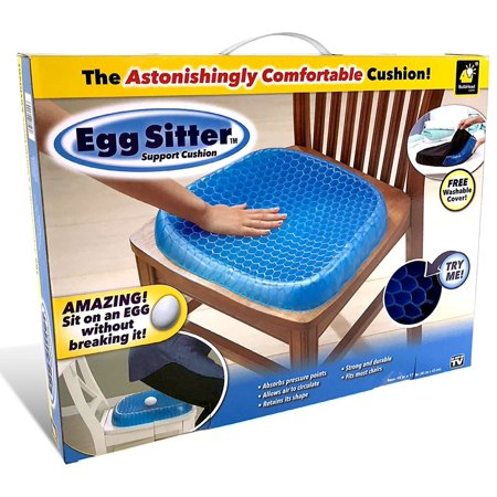 Egg Sitter Gel Support Seat Cushion, As Seen on TV