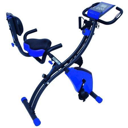 FLEX BIKE ULTRA FITNATION BY ECHELON (ROYAL BLUE) folding rider AS SEEN ON TV exercise