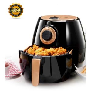 Gotham Steel Air Fryer 4 Quart with Included Presets, Temperature Control and Timer, As Seen on TV!