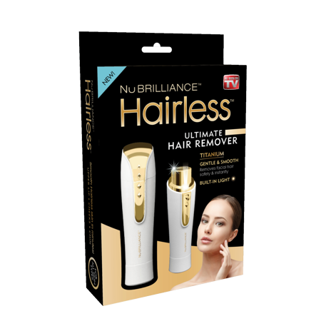 Hairless By NuBrilliance - The Ultimate Hair Remover - As Seen on TV! Gold