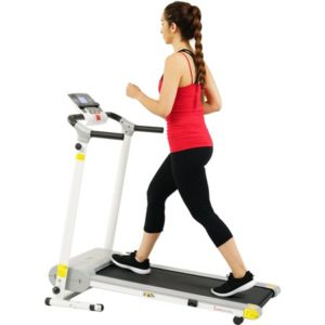 Sunny Health & Fitness SF-T7610 Motorized Folding Treadmill 220 lb Max Weight