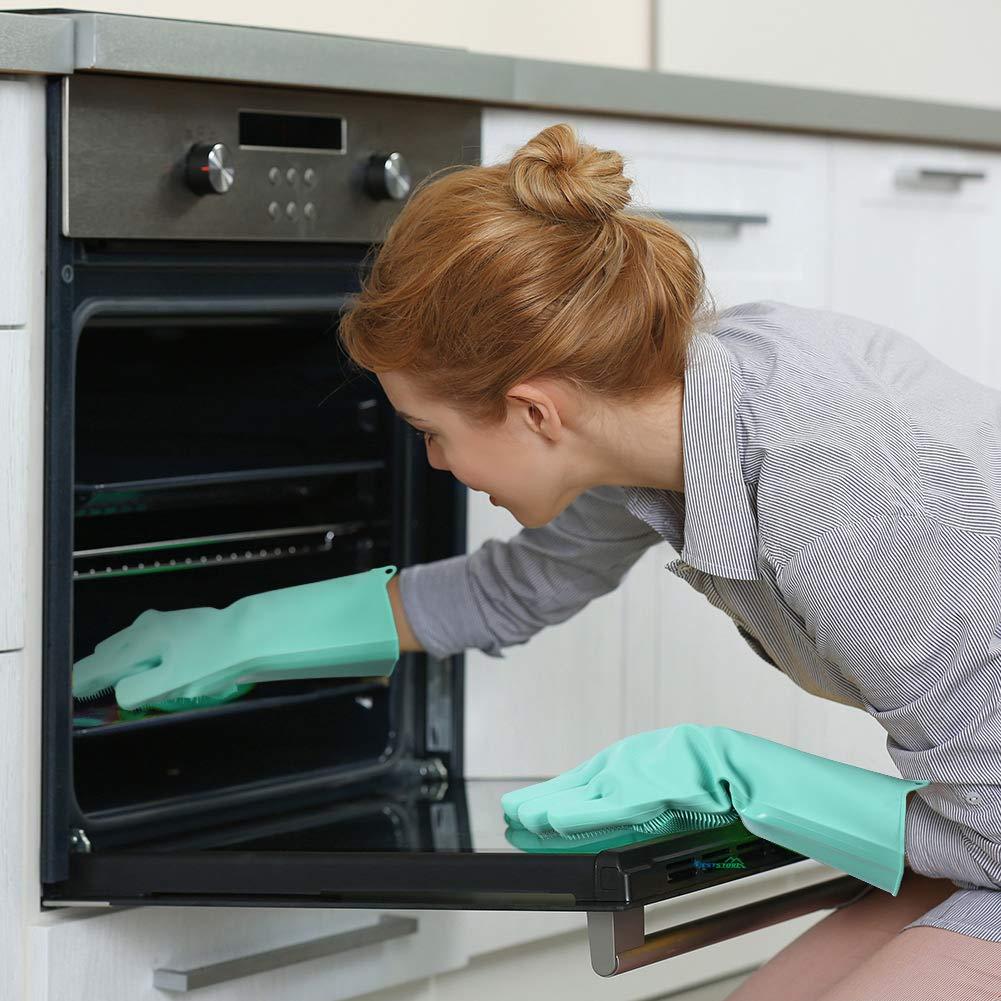 silicone dishwashing scrubber gloves 5