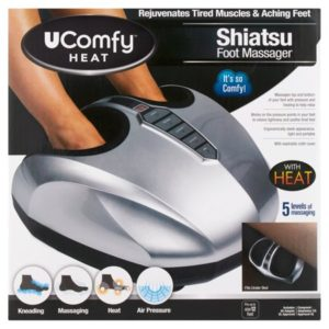 uComfy Shiatsu Foot Massager with Heat, As Seen on TV