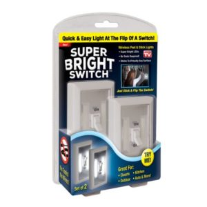 As Seen On Tv The Super Bright Light Switch with Built In Lights