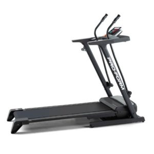 ProForm Crosswalk LT Folding Treadmill with Upper Body Resistance, Compatible with iFit Personal Training