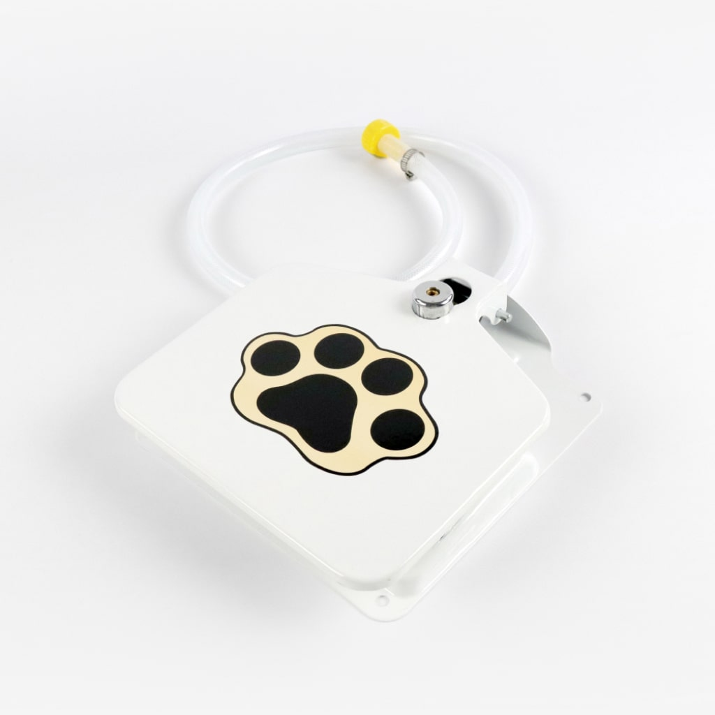 automatic outdoor dog water fountain 1