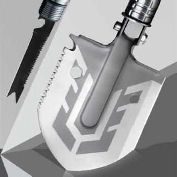 multi-purpose folding shovel 13