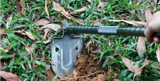 multi-purpose folding shovel 18