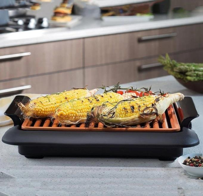 smokeless indoor electric bbq grill 1