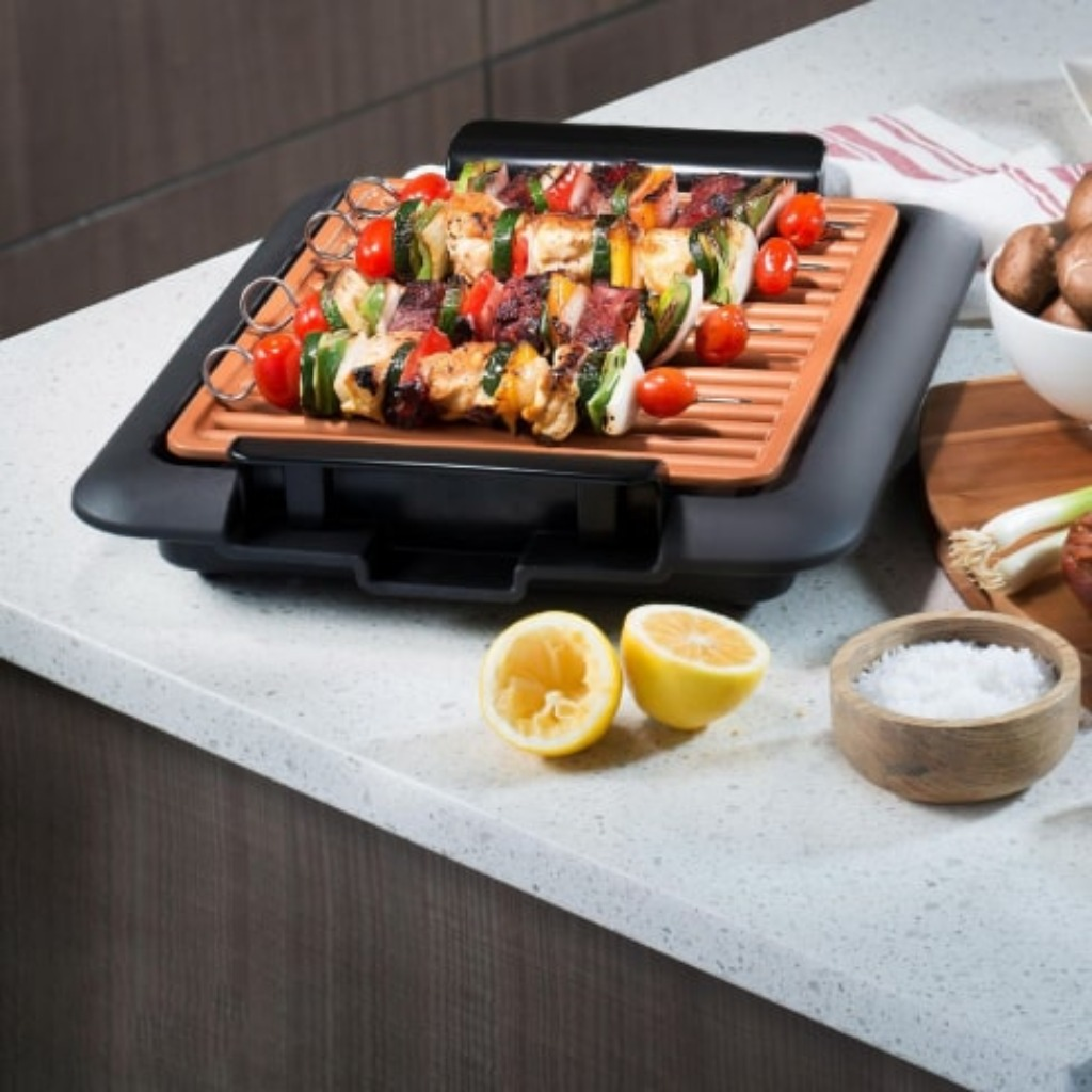 smokeless indoor electric bbq grill 10