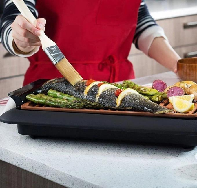 smokeless indoor electric bbq grill 2
