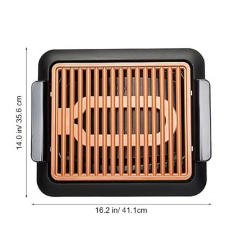 smokeless indoor electric bbq grill 9