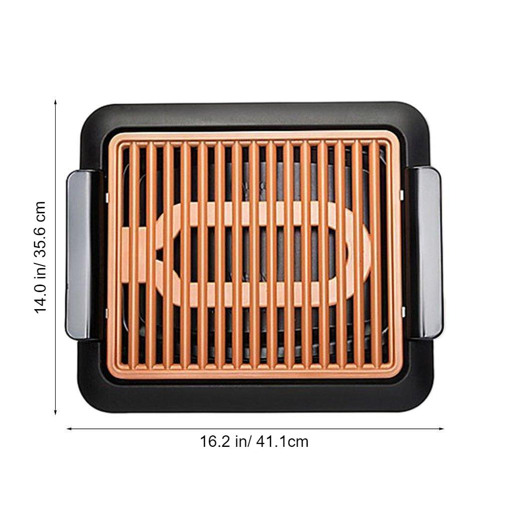 smokeless indoor electric bbq grill 5
