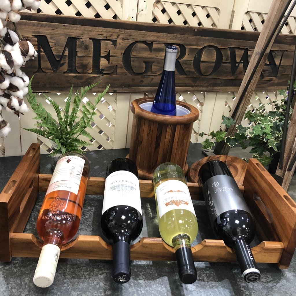 4 bottle stackable wine rack 5