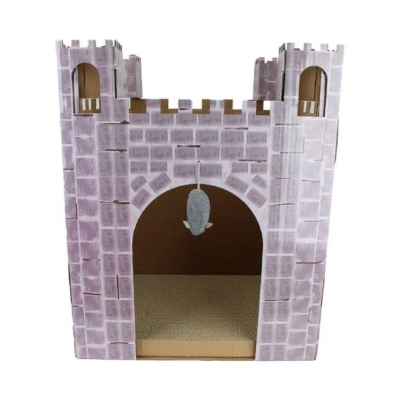 castle cat scratcher house 8