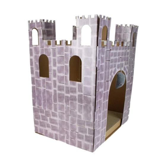 castle cat scratcher house 9