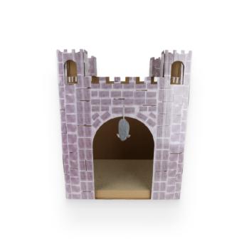 castle cat scratcher house 5
