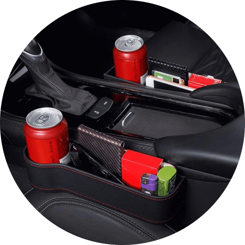 multifunctional car seat organizer set (left & right) 12