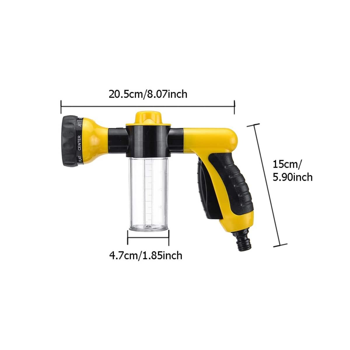 multi-purpose hose sprayer nozzle 6