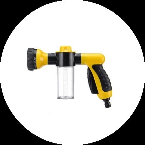 multi-purpose hose sprayer nozzle 19