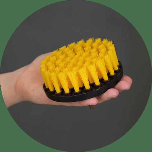 drill scrubber brush kit 10