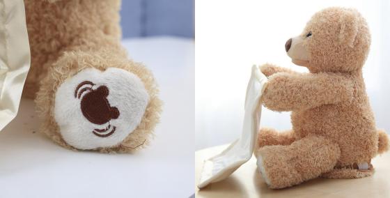 peek-a-boo bear toy 14