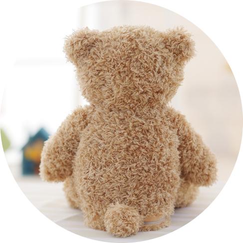 peek-a-boo bear toy 16