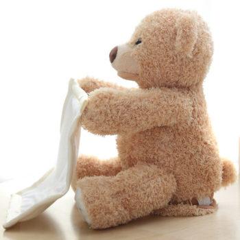 peek-a-boo bear toy 12