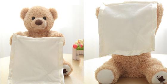 peek-a-boo bear toy 15