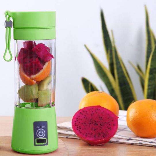 13-ounce usb-rechargeable fruit blender 16
