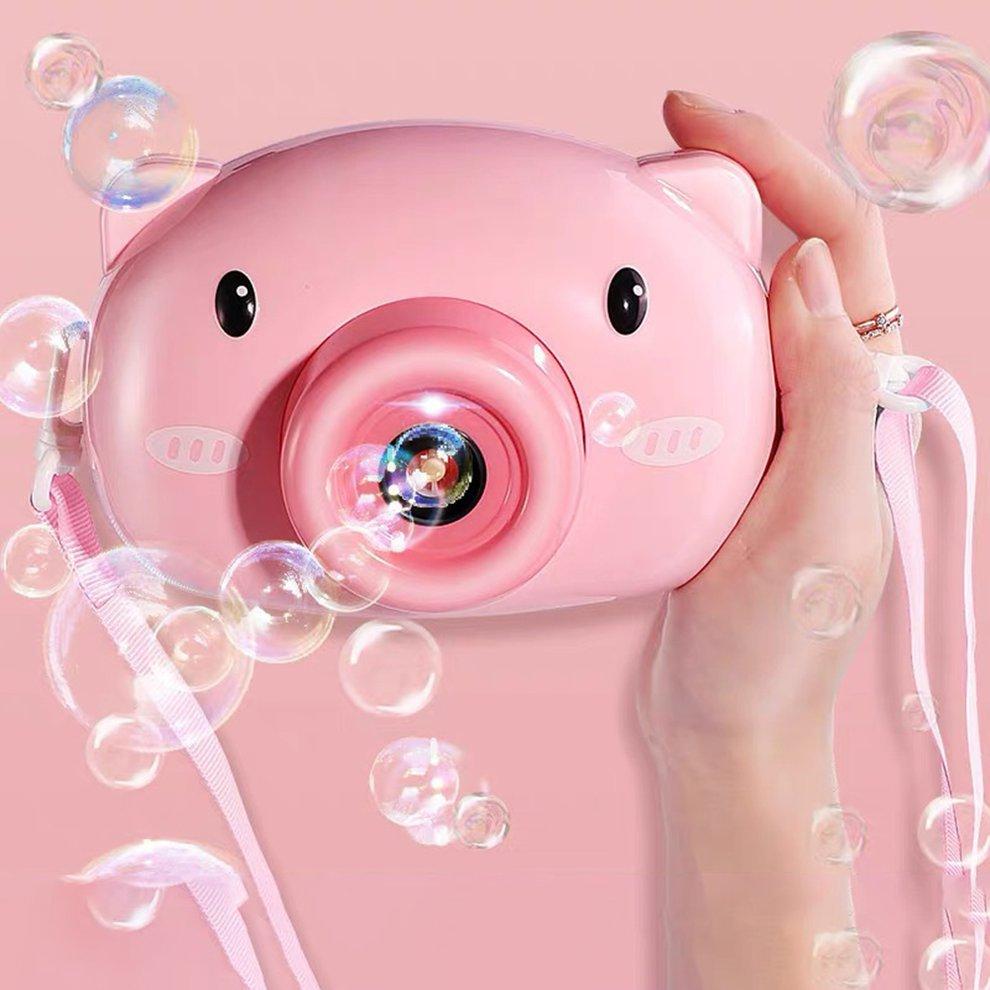 cute pig bubble maker 7