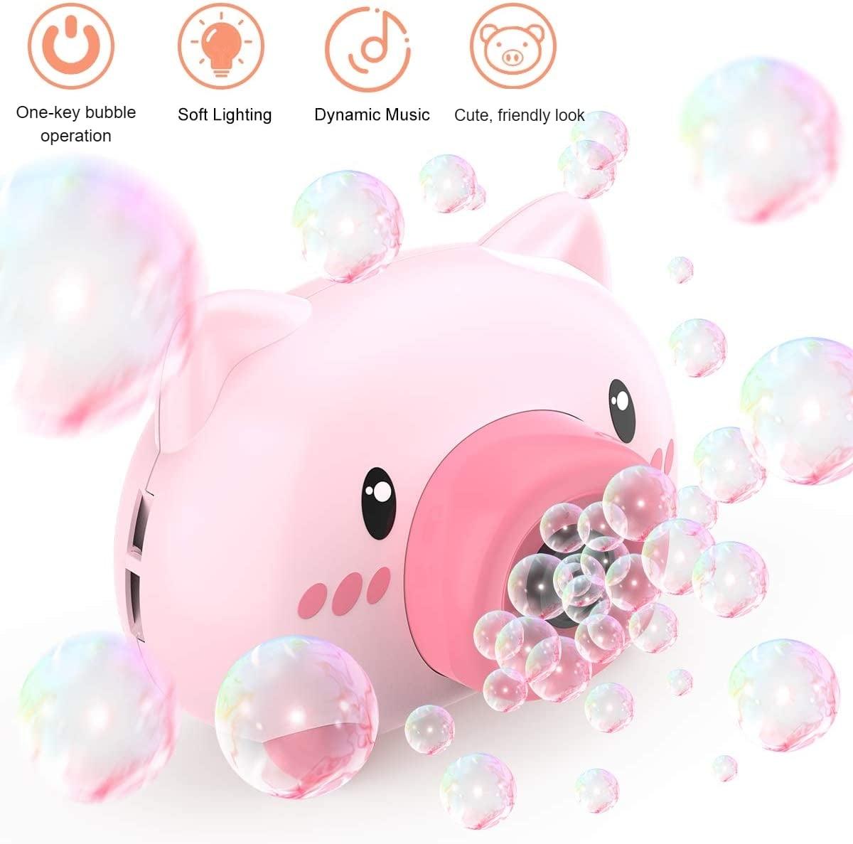 cute pig bubble maker 5