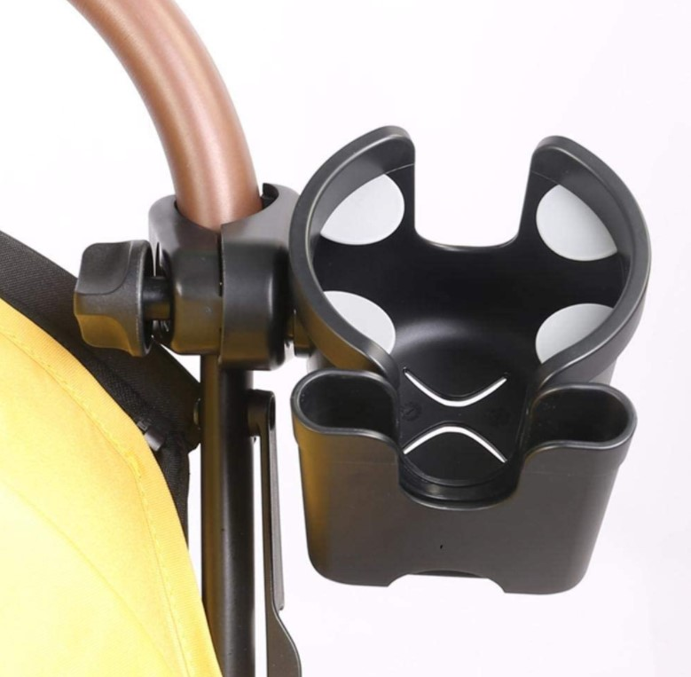 cup and phone holder for stroller 2