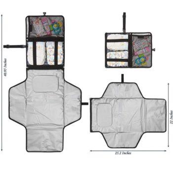 waterproof foldable changing mat for newborns 14