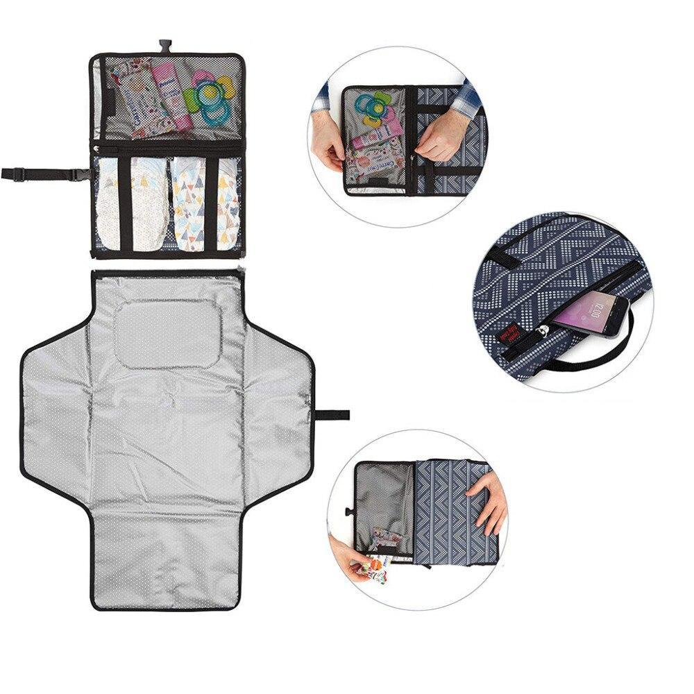 waterproof foldable changing mat for newborns 8