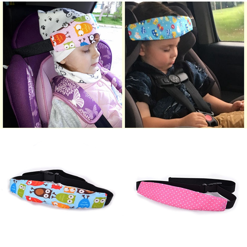 baby car seat head support band 4
