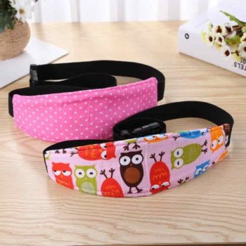 baby car seat head support band 8
