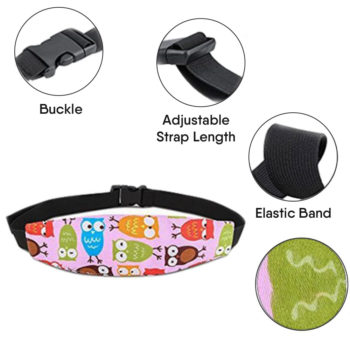 baby car seat head support band 13