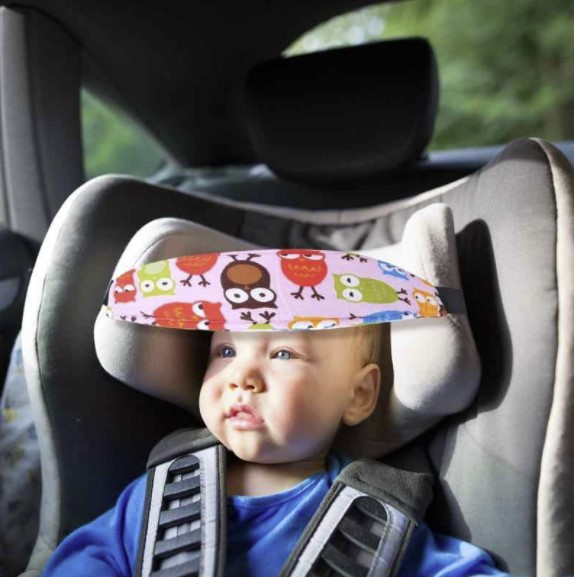 baby car seat head support band 3