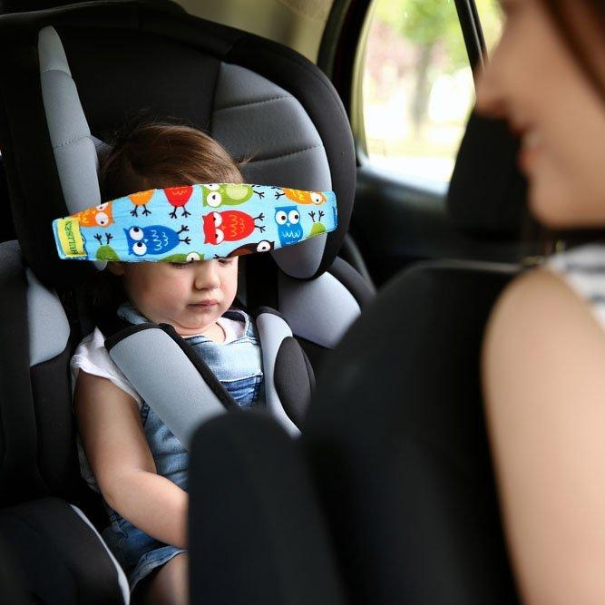 baby car seat head support band 1