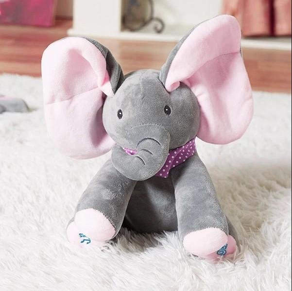 peek-a-boo elephant toy 1