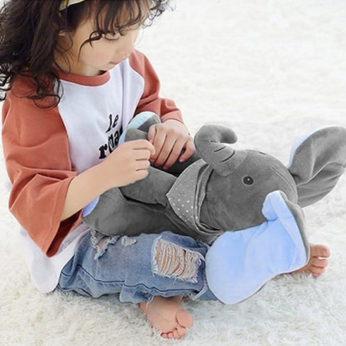 peek-a-boo elephant toy 12