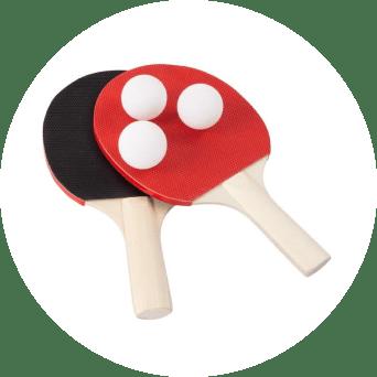 portable table tennis set 20