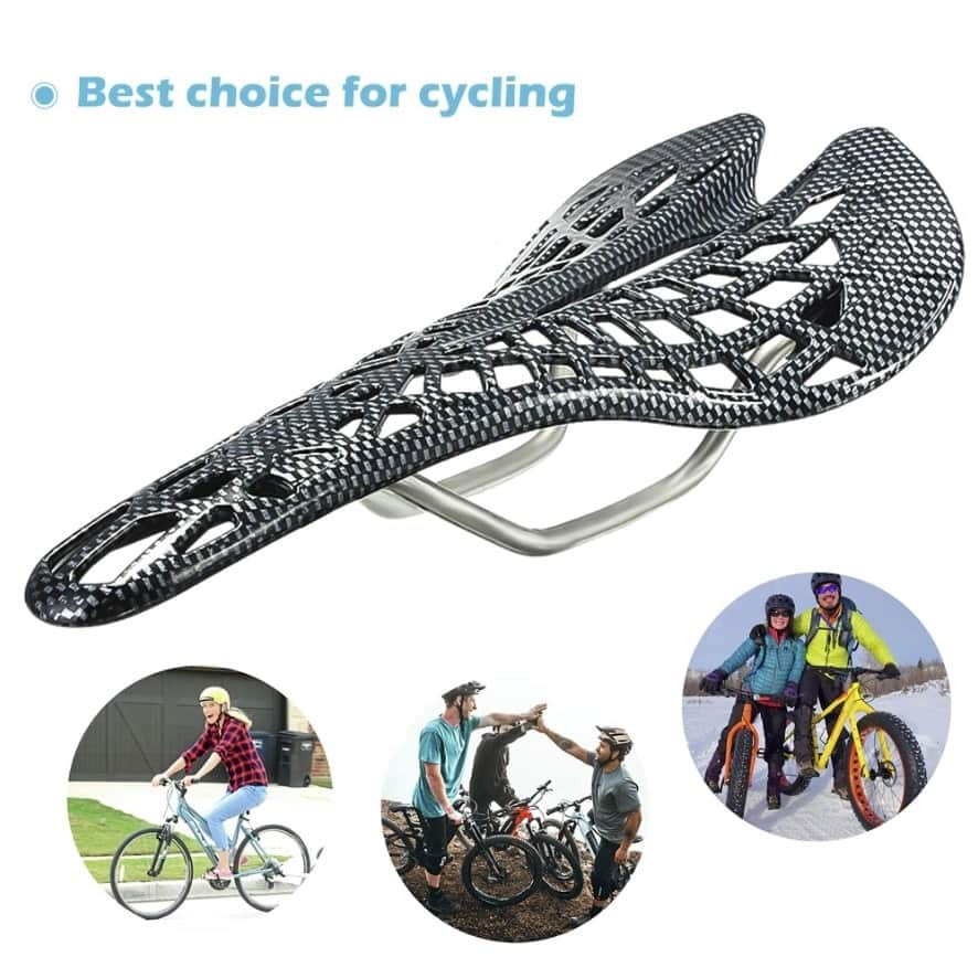 bike seat with built-in saddle suspension 9