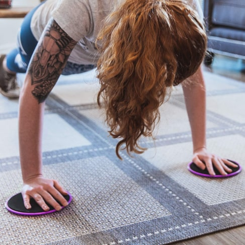 core workout sliders (set of two) 4